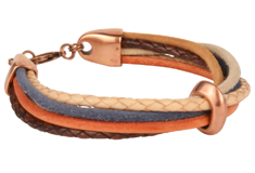 Groovy Suede Round Cord Bracelet