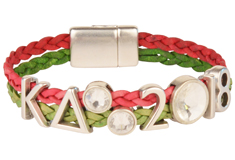 Kappa Delta 2018 Leather Bracelet