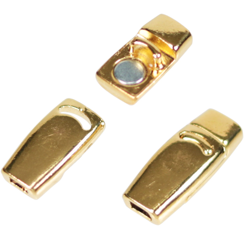 3mm Flat Magnetic Clasps For Leather and Cork Cord