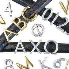 English & Greek Alpha Letters for Regaliz