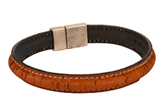 Plain and Simple Mens Cork Bracelet