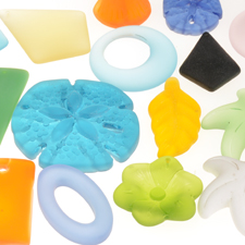 Cultured Sea Glass - By Shape
