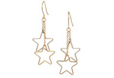 Seeing Stars Designer Component Earrings