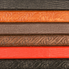Textured Regaliz Leather Cord