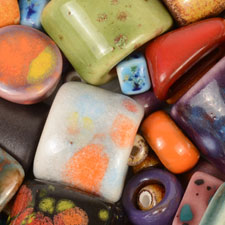 Clay River Porcelain Ceramic Beads and Sliders