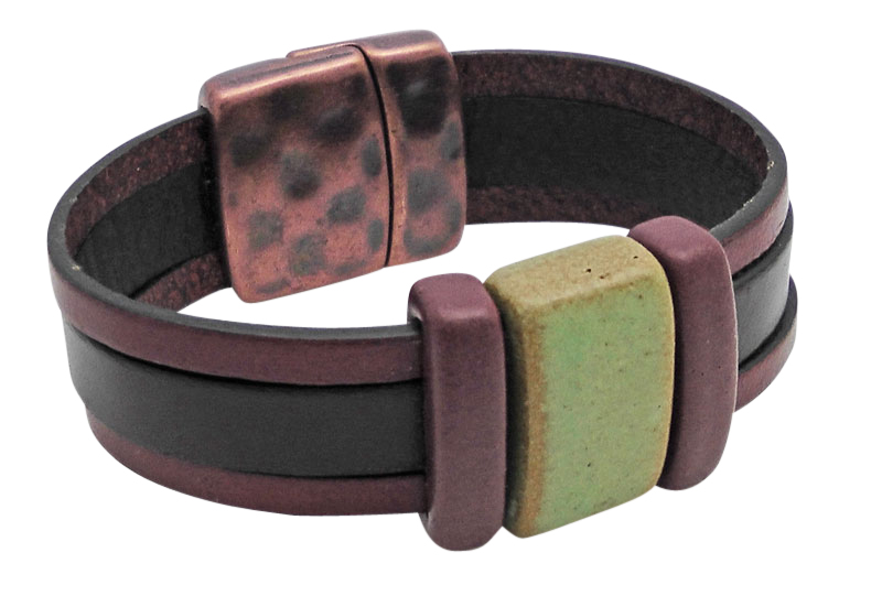 Junior Flat Leather Bracelet