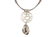 Floating Bubbles Swarovski Designer Component Necklace