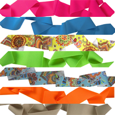Lycra Ribbon Beading Cord For Making Jewelry