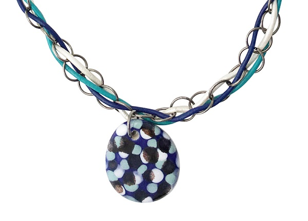 Freeform Weave Necklace