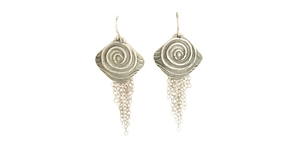 Pinwheel Cascade Earrings