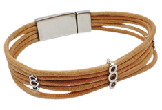 Trick Roping 2mm Leather Bracelet